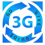 3G – Go, Give, Guide International Logo